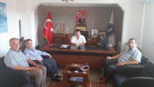 Topçu'dan Çakıroğlu ve Sağır'a Ziyaret