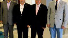Başkan Sağır Vali Amir Çiçek'ten Sosyal Güvenlik Merkezi ve Organize Sanayi Bölgesi İçin Destek İstedi