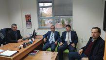 Oda Başkanlarından İŞKUR Müdürüne Ziyaret…