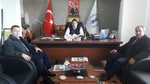 SGK İl Müdüründen Başkan Sağır'a Teşekkür Ziyareti