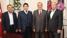 Harun Sağır'dan Muğla Vergi Dairesi Başkanı Bayar Ve Mal Müdürü Taşkın'a Ziyaret