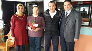 Başkan Harun Sağır Bayan Esnafların Kadınlar Gününü Kutladı