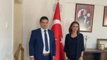 Ticaret İl Müdürü Gülşah Yalçınkaya'ya Ziyaret